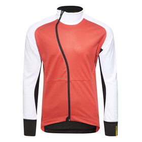 Mavic Cosmic Pro Wind Jacket Men black/bright red